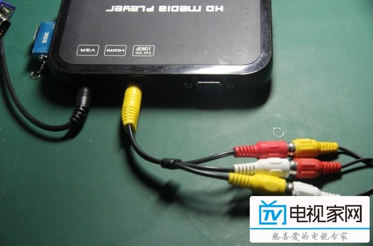 hdmi接口机顶盒连接方法
