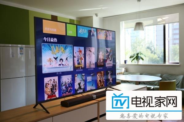 小米电视3S人工智能电视PatchWall拼图墙系统评测体验