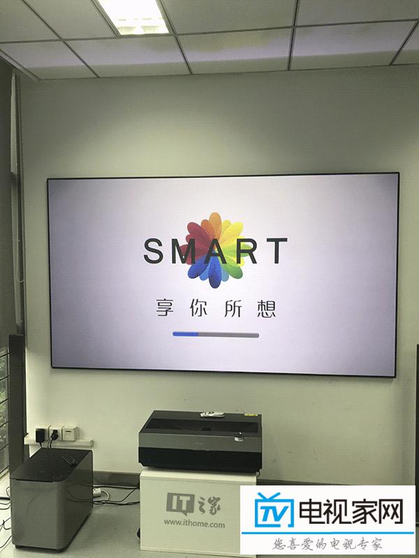100英寸巨幕:海信DLP超短焦4K激光电视开箱实测
