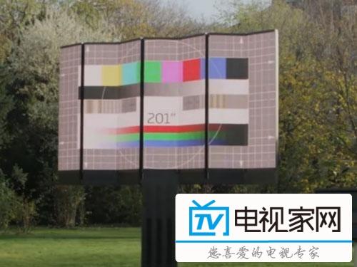 足以震慑眼球 看看这款全球最大最贵液晶电视
