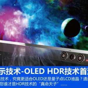 畫質新標桿!頂級OLED搭載HDR技術首測