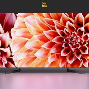 索尼發布新品X9000F電視,55吋僅9999元!